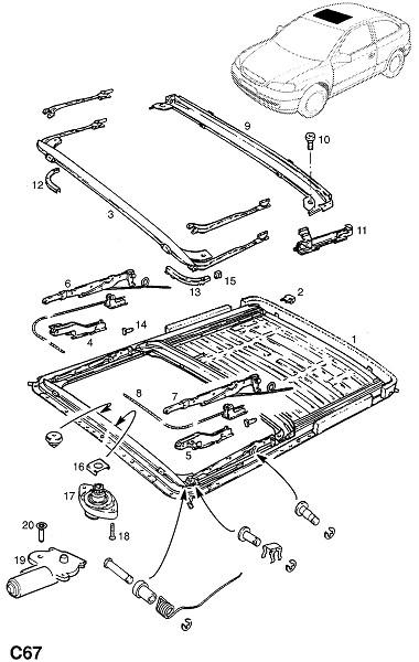 Верхний люк (Внутренние приспособления для кузова)
