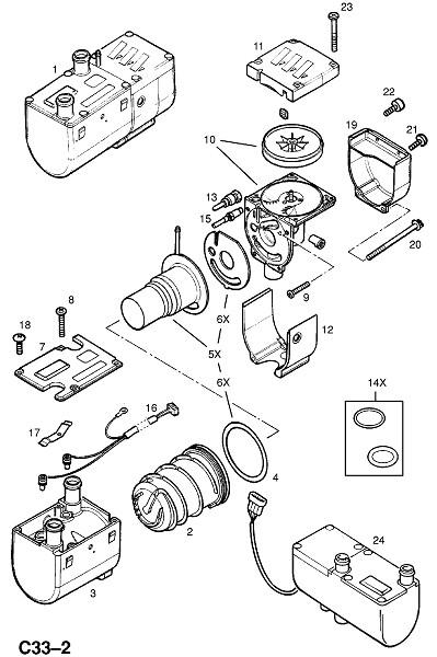 Вспомогательный обогреватель (Внутренние приспособления для кузова)