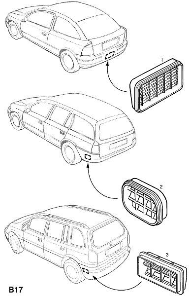 Вентиляционный канал (Внешние приспособления для кузова)
