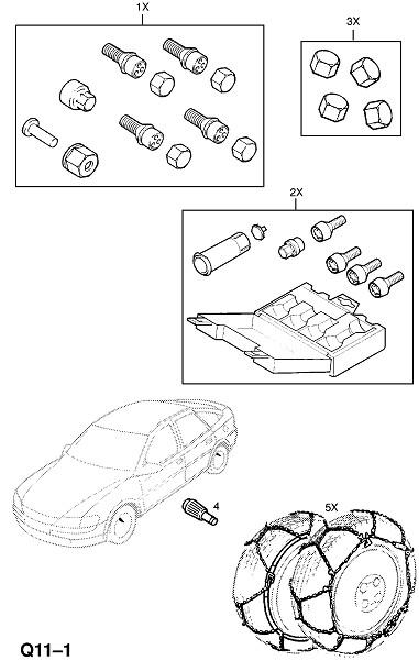 Дорожные колеса (Принадлежности)