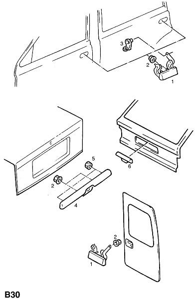 Ручки (Внешние приспособления для кузова)