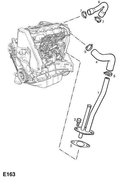 X17dtl турбо-дизельный двигатель (Двигатель и сцепление)