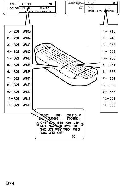 Отделка заднего сидения (Внутренняя отделка кузова)