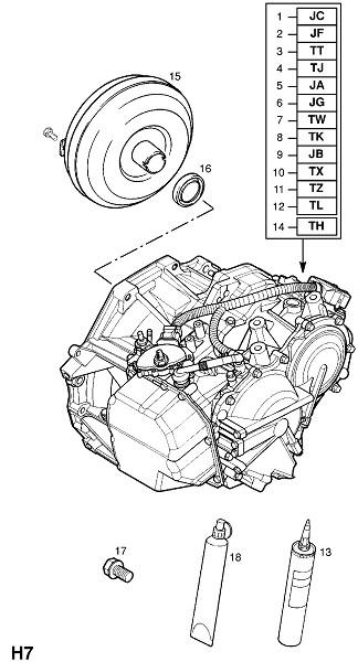 Af23,af33 автоматическая трансмиссия (Трансмиссия)