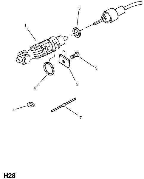 Четырехступенчатая трансмиссия ручного управления типа f16 с большим передаточным числом (Трансмиссия)