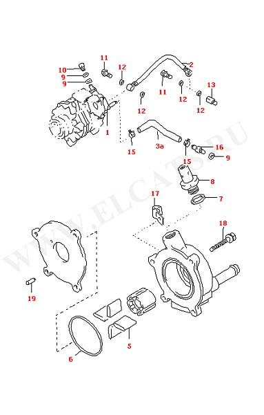 Вакуумный насос для сервотормоза (Двигатель, Сцепление)