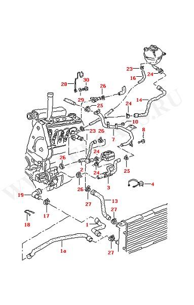 Водяное охлаждение (Двигатель, Сцепление)