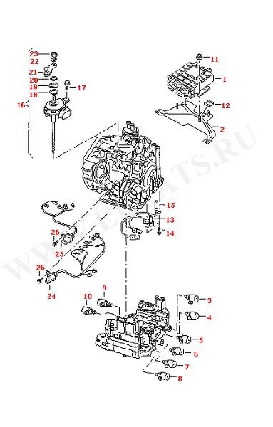 АКПП-6 Выключатель Электропроводка (Электрика)