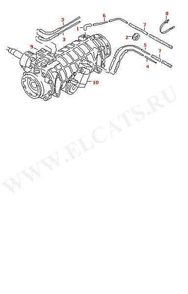 Вакуумные шланги (Задняя ось)