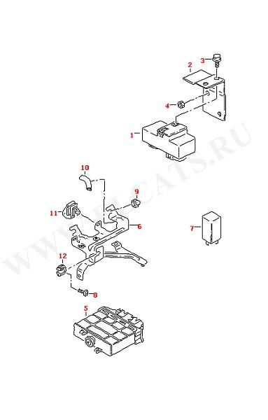 Блок управления электровентилятора (Электрика)