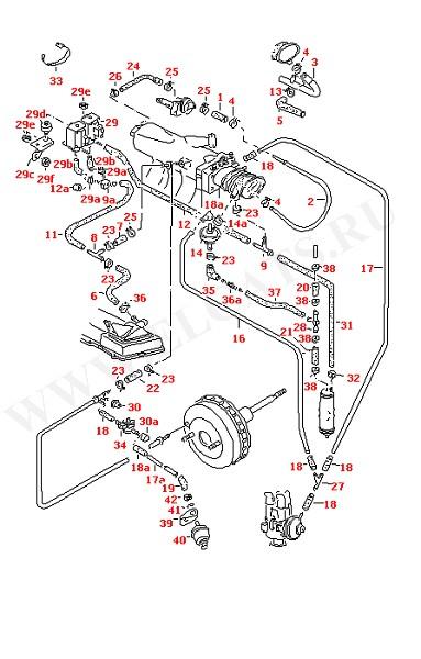 Вакуумная система Система фильтрования с активированным углем (Двигатель, Сцепление)