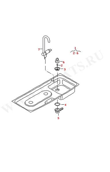 Втулка Кран-смеситель Защелка (Дополнительное оборудование)