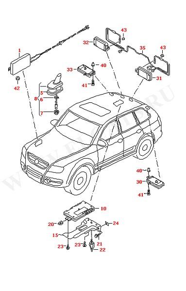 Антенна Усилитель антенны (Дополнительное оборудование)