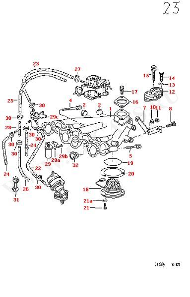 Впускная система Впускной патрубок (Двигатель, Сцепление)