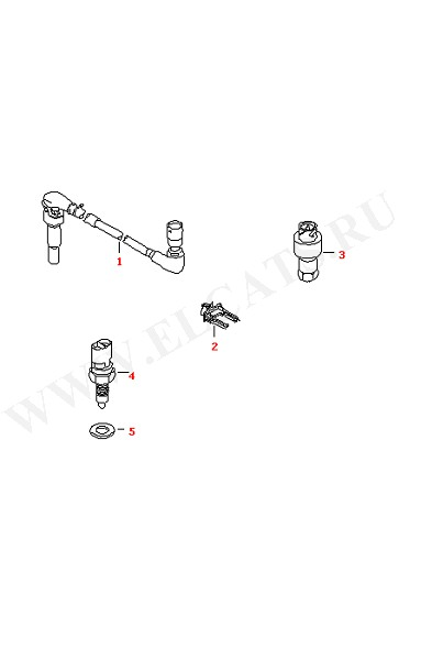 Выключатель и датчик на КПП МКПП-5/6 Датчик заднего хода (Электрика)