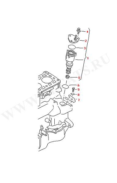 Вакуумный насос (Двигатель, Сцепление)