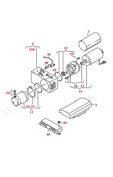 Гидравлический насос с электромотором (Кузов)