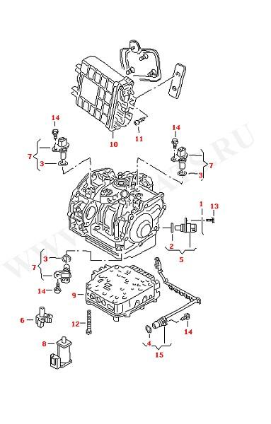 Выключатель и датчик на КПП Электромагнит Печатная схема (Электрика)