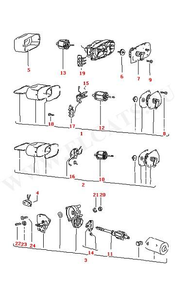 Версии моторчика стеклоочистителя Щетка стеклоочистителя (Электрика)
