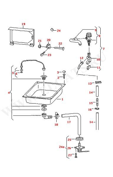 Втулка Кран Выпускной клапан (Дополнительное оборудование)
