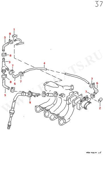 Всасывающий насос (Двигатель, Сцепление)