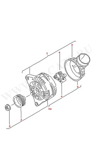 Генератор и составляющие части для генератора (Электрика)