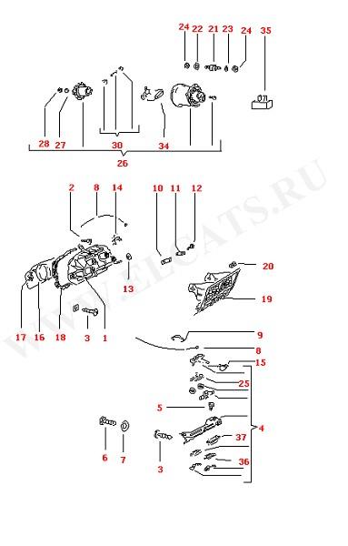 Бокс свежего воздуха Регуляторы системы вентиляции Выпуск холодного воздуха (Кузов)
