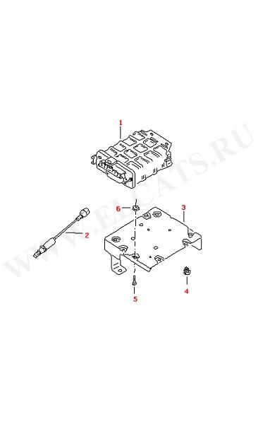 Блок управления электронного зажигания Лямбда-зонд (Электрика)