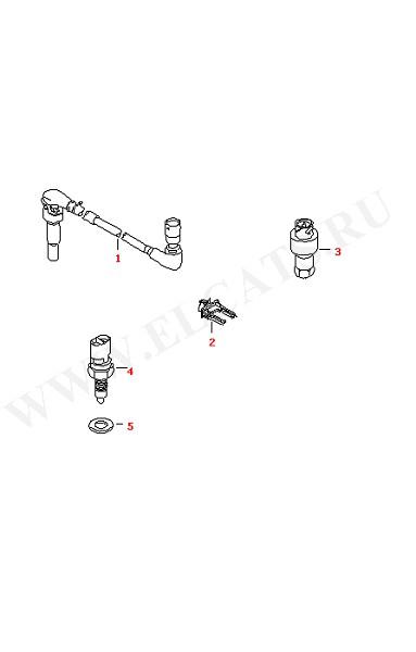 Выключатель и датчик на КПП для МКПП Датчик заднего хода (Электрика)