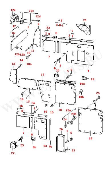 Боковые отделочные панели (Дополнительное оборудование)