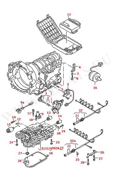 АКПП-5 Печатная схема