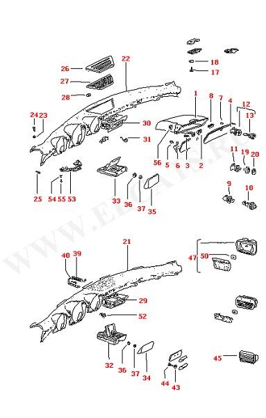 Бардачок Крышка приборной панели Пепельница (Кузов)