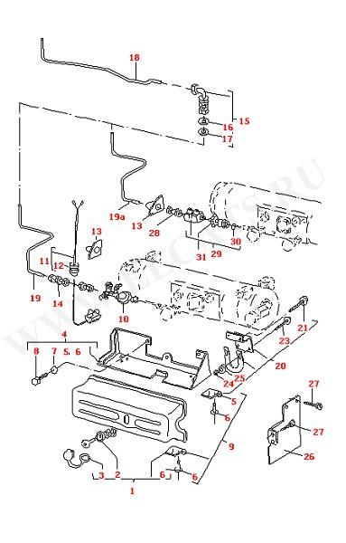Газовая труба Регулятор давления газа Крышка (Дополнительное оборудование)