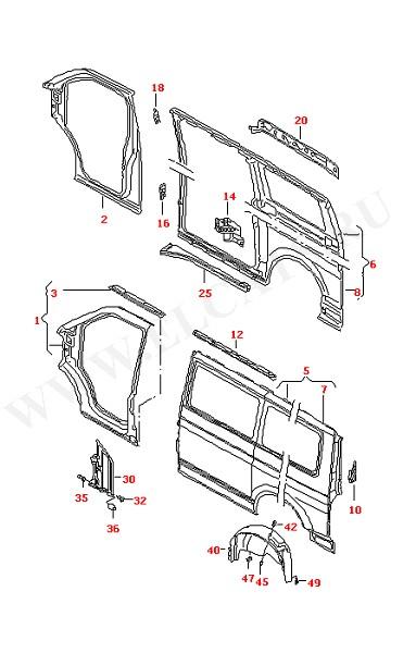 Боковая панель Лючок бензобака (Кузов)